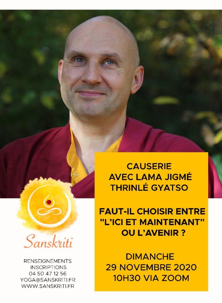 Conversation avec Lama Jigmé Thrinlé Gyatso